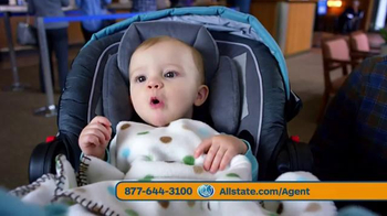 Allstate Safe Driving Bonus Check TV Spot, 'Baby Deposit and Teens' - Thumbnail 3
