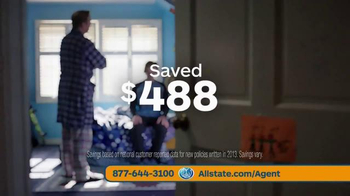 Allstate Safe Driving Bonus Check TV Spot, 'Baby Deposit and Teens' - Thumbnail 9