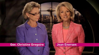 Christine Gregoire and Jean Enersen thumbnail