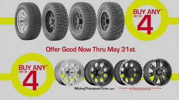 Mickey Thompson Performance Tires & Wheels Bucks Back TV Spot - Thumbnail 4