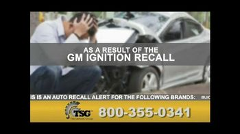 The Sentinel Group TV Spot, 'GM Recall'