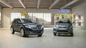 Lincoln MKX TV Spot, 'The Right Questions' - Thumbnail 5
