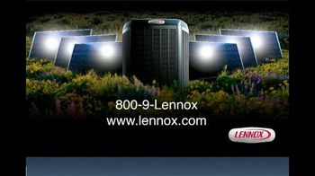 Lennox Home Comfort Systems TV Spot, 'Working Efficiently'