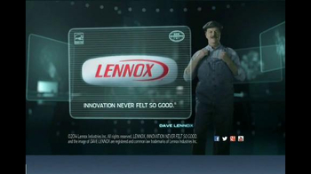 Lennox Home Comfort Systems TV Spot, 'Working Efficiently' - Thumbnail 6