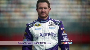 Xarelto TV Spot Featuring Brian Vickers