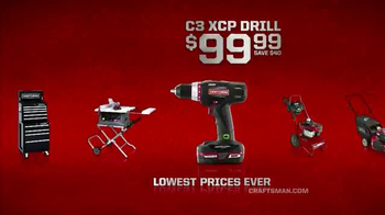 Sears TV Spot, 'Craftsman Days' - Thumbnail 5