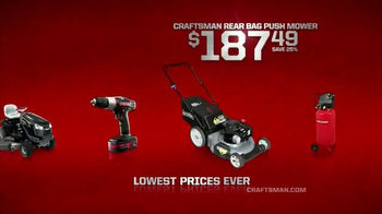 Sears TV Spot, 'Craftsman Days' - Thumbnail 7