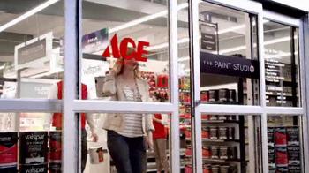 ACE Hardware TV Spot, 'The Paint Studio: Helpful Is Beautiful' - Thumbnail 10