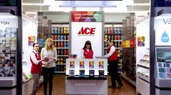ACE Hardware TV Spot, 'The Paint Studio: Helpful Is Beautiful' - 4578 commercial airings