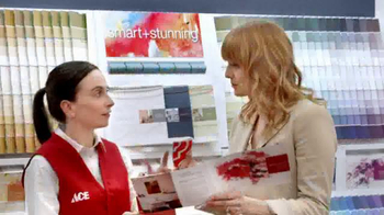 ACE Hardware TV Spot, 'The Paint Studio: Helpful Is Beautiful' - Thumbnail 6