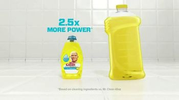 Mr. Clean Liquid Muscle TV Spot, 'Little Goes A Long Way' - Thumbnail 6