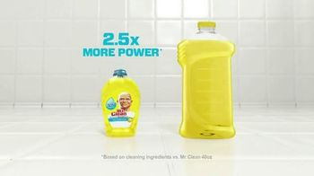Mr. Clean Liquid Muscle TV Spot, 'Little Goes A Long Way' - Thumbnail 7