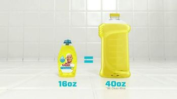 Mr. Clean Liquid Muscle TV Spot, 'Little Goes A Long Way' - Thumbnail 9