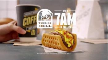 Taco Bell Waffle Taco TV Spot, 'Slippery Slope' - Thumbnail 10