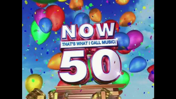 Now That's What I Call Music 50 TV Spot