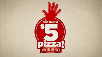 DiGiorno TV Spot, 'High Five for $5' - Thumbnail 6