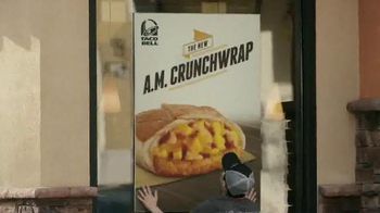 Taco Bell A.M. Crunchwrap TV Spot, 'One-Handed Breakfast' - Thumbnail 2
