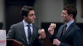 Dunkin' Donuts Chicken Apple Sausage TV Spot, 'Day in Court' - Thumbnail 1