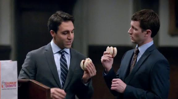 Dunkin' Donuts Chicken Apple Sausage TV Spot, 'Day in Court' - 471 commercial airings