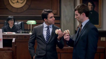 Dunkin' Donuts Chicken Apple Sausage TV Spot, 'Day in Court' - Thumbnail 6