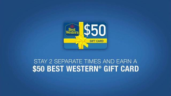 Best Western TV Spot, '$50 Gift Card' - Thumbnail 2