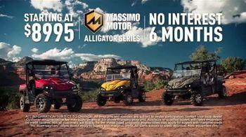 Massimo Motor Alligator Series TV Spot