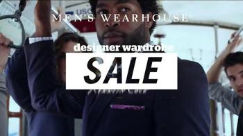 Men's Wearhouse Designer Wardrobe Sale TV Spot, 'Big Brand Names' - 1091 commercial airings