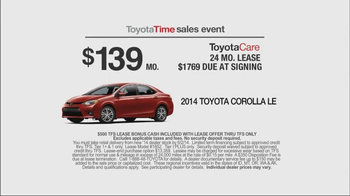 Toyota Time Sales Event TV Spot, '1.9% APR Financing' - Thumbnail 8