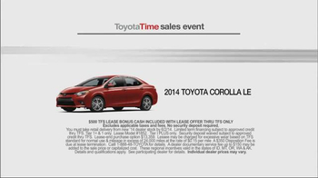 Toyota Time Sales Event TV Spot, '1.9% APR Financing' - Thumbnail 9