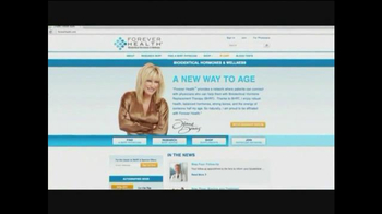 Forever Health TV Spot Featuring Suzanne Somers - Thumbnail 8