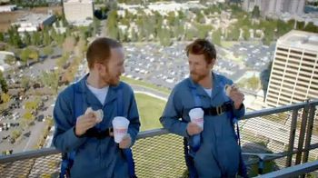 Dunkin' Donuts Chicken Apple Sausage Sandwich TV Spot - 91 commercial airings