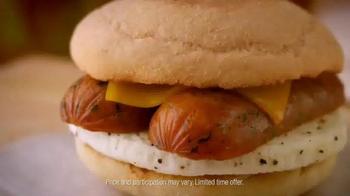 Dunkin' Donuts Chicken Apple Sausage Sandwich TV Spot - Thumbnail 2