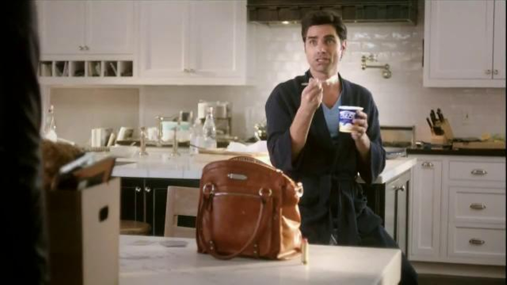 Dannon Oikos Greek Frozen Yogurt TV Commercial Featuring John Stamos