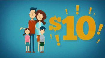 Long John Silver's $10 Chicken Family Pack TV Spot