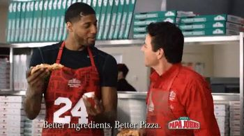 Papa John's Sweet Chili Chicken Pizza TV Spot Featuring Paul George - 728 commercial airings