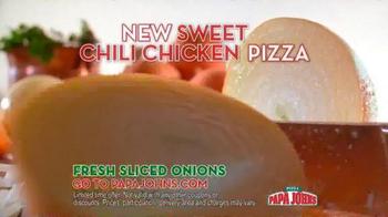 Papa John's Sweet Chili Chicken Pizza TV Spot Featuring Paul George - Thumbnail 6