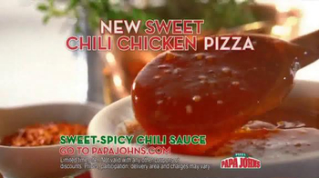 Papa John's Sweet Chili Chicken Pizza TV Spot Featuring Paul George - Thumbnail 7
