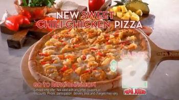 Papa John's Sweet Chili Chicken Pizza TV Spot Featuring Paul George - Thumbnail 8