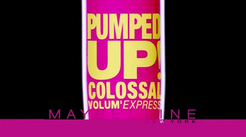 Maybelline New York Pumped Up! Colossal Volum' Express TV Spot