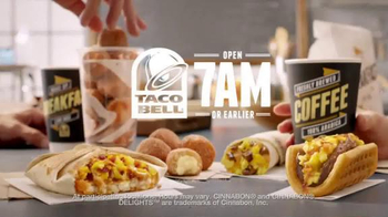 Taco Bell Breakfast TV Spot, 'Morning Rave' - Thumbnail 9