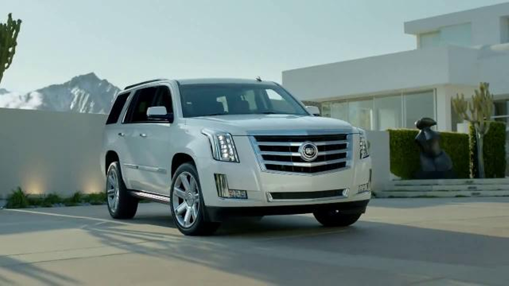 Cadillac Escalade TV Commercial, 'Evolution of Indulgence ...