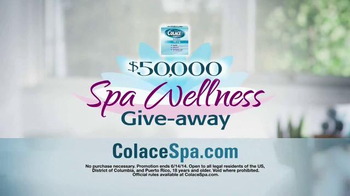 Colace TV Spot, 'Spa Giveaway'