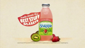 Snapple Kiwi Strawberry TV Spot, 'What's in Our Snapple?' - Thumbnail 10