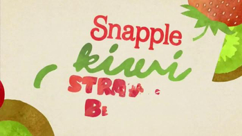 Snapple Kiwi Strawberry TV Spot, 'What's in Our Snapple?' - Thumbnail 3