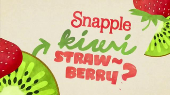Snapple Kiwi Strawberry TV Spot, 'What's in Our Snapple?'