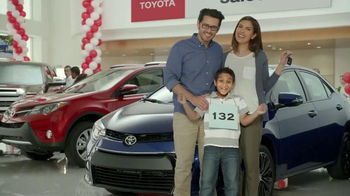 Toyota Time Sales Event TV Spot, 'Spelling Bee' - 791 commercial airings