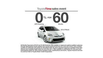 Toyota Time Sales Event TV Spot, 'Spelling Bee' - Thumbnail 7