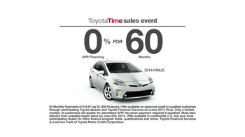 Toyota Time Sales Event TV Spot, 'Spelling Bee' - Thumbnail 8