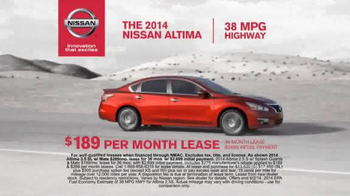 2014 Nissan Altima TV Spot, 'Ride of Your Life' - Thumbnail 9