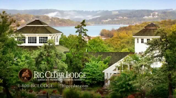 Big Cedar Lodge TV Spot thumbnail